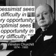 Differences Between Optimists And Pessimists Quote