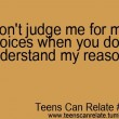 Don't Judge Me Quote