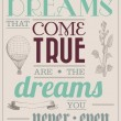 Dreams That Come True Quote
