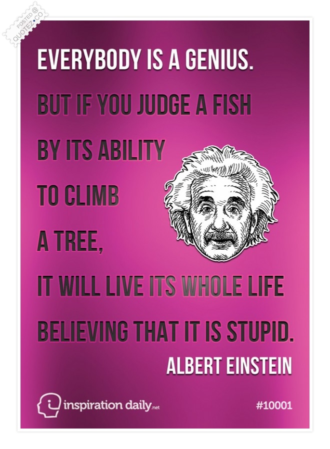 Everybody Is A Genius Quote