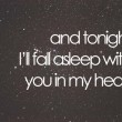 Fall Asleep Quote