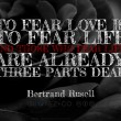 Fear Love Quote