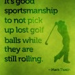Good Sportsmanship Quote