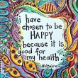Chosen To Be Happy Quote