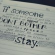 If Someone Wants To Be A Part Of Your Life Quote