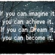If You Can Imagine It You Can Achieve It Quote