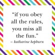 If You Obey All The Rules Quote