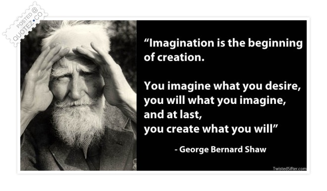 Imagination Is The Beginning Of Creation Quote