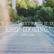 Keep Looking Quote