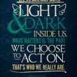 Light&Dark Inside Us Quote