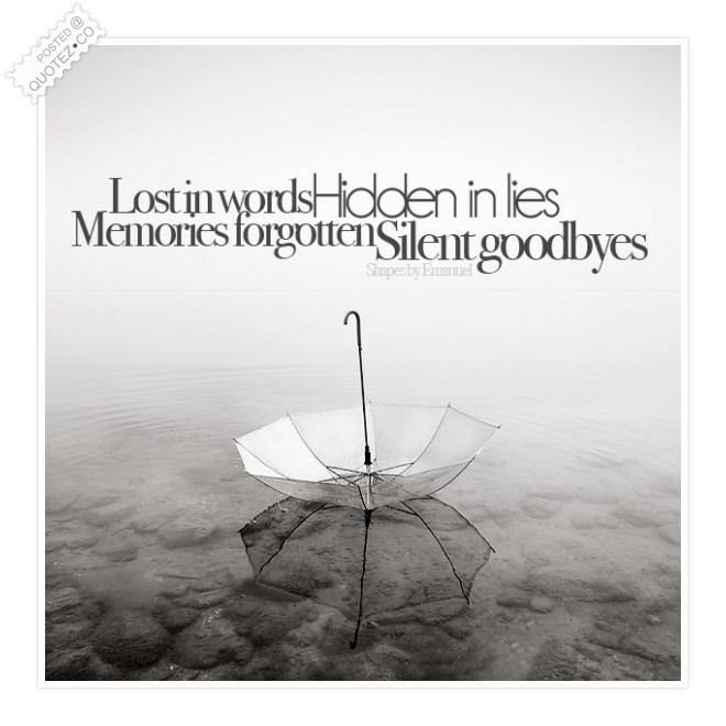 Lost In Words Quote
