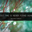 Lost Time Quote
