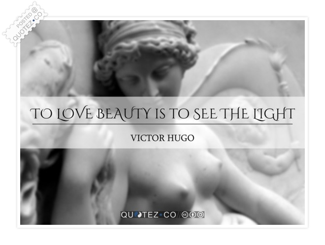 Love Beauty Quote