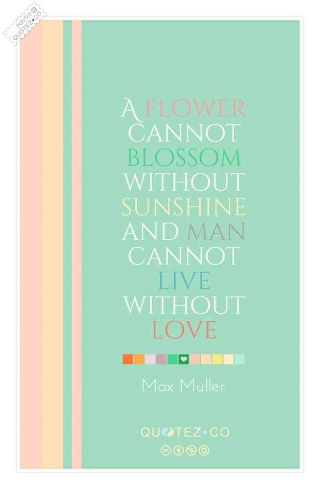 Man Cannot Live Without Love Quote