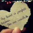 My Heart Is Perfect Quote