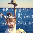 Open Your Eyes Quote