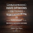Opinions Quote