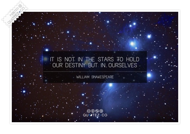 Our Destiny Quote