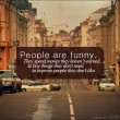 People Are Funny Quote