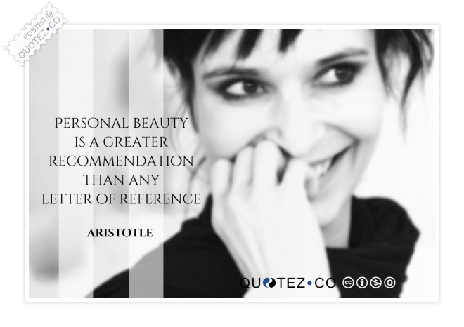 Personal Beauty Quote