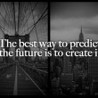 Predict The Future Quote