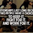 Relationships Last Long Quote