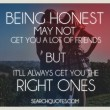 Right Friends Quote
