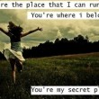 Secret Place Quote