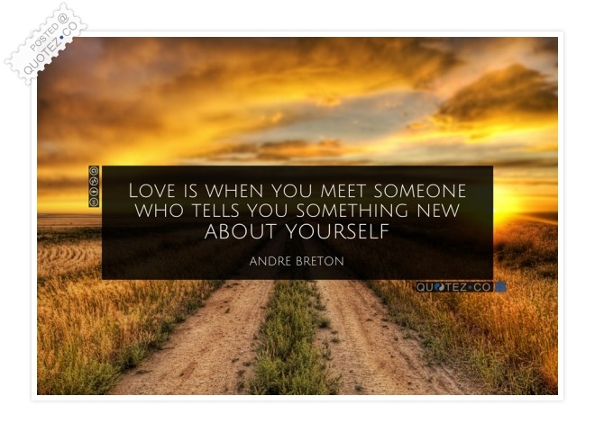 Something New About Yourself Quote