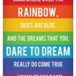 Somewhere Over The Rainbow Quote