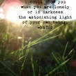 The Astonishing Light Of Your Own Being Quote