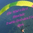 The Mind Is Like A Parachute Quote