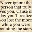 The Person That Truly Loves You Quote