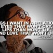Things I Want In A Relationship Quote