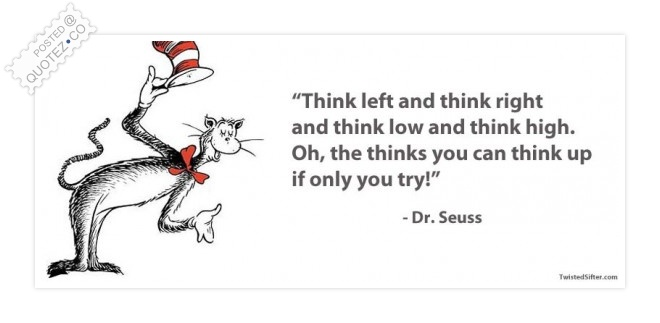 Think Up Quote
