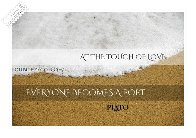 Touch Of Love Quote