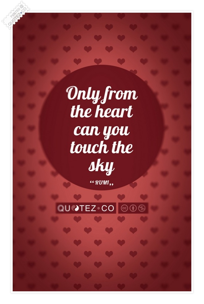 Touch The Sky (Rosewood) Quote