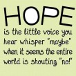 What Is Hope Quote