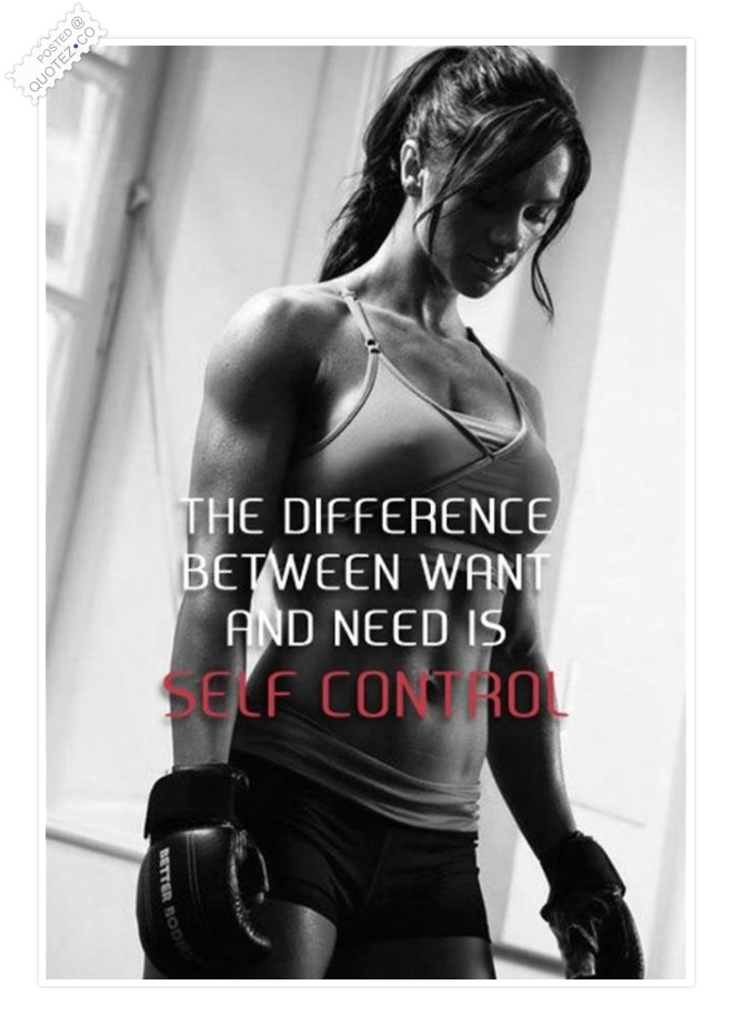 What Is Self Control Quote