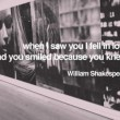When I Saw You I Fell In Love Quote
