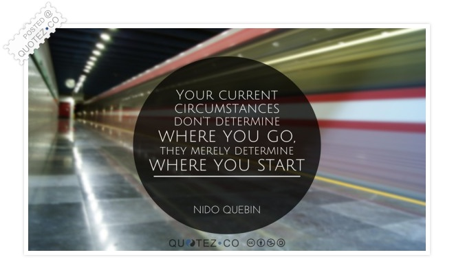 Where To Start Quote
