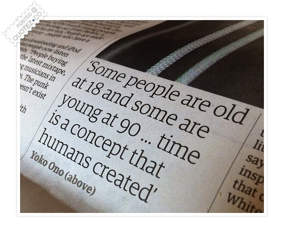 Time Is A Concept That Humans Created Quote