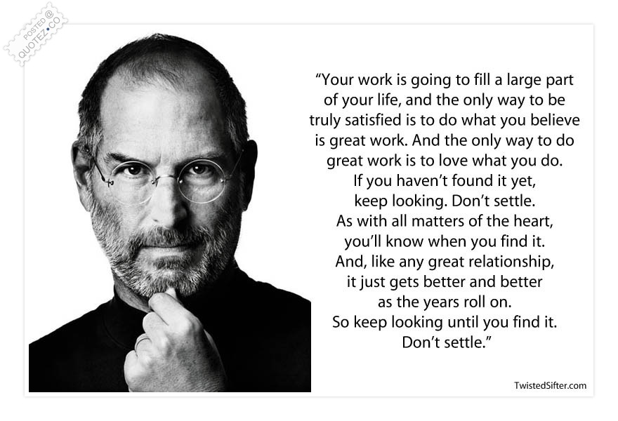 Great Quotes About Success Interesting To Do Great Work Is To Love What You Do Success Quote « Quotez○Co