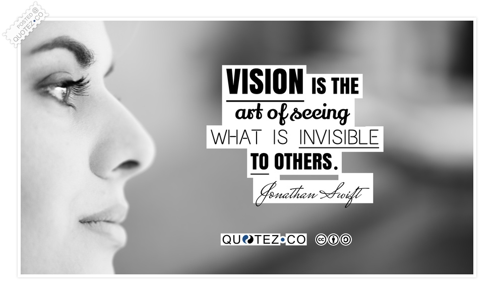 Quotes About Vision Cool Vision Quotes & Sayings « Quotez○Co