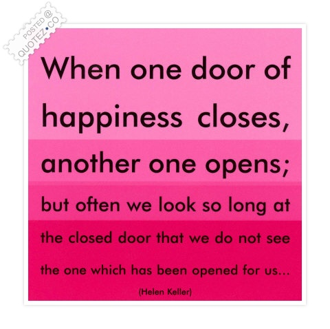 Door Of Happiness Quote