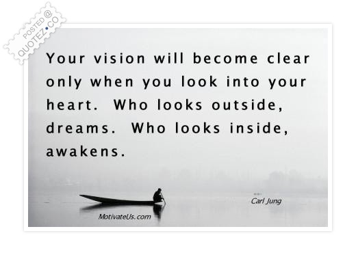 Who Looks Inside Awakens Quote