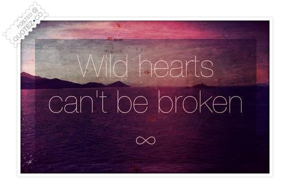 Wild Hearts Can't Be Broken Quote
