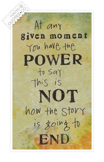 You Have The Power To Change Your Life Quote