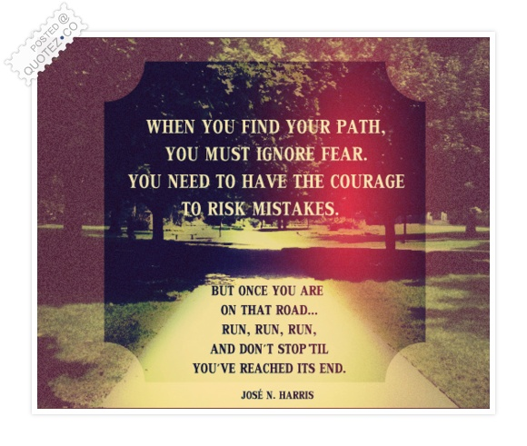 Your Path Quote
